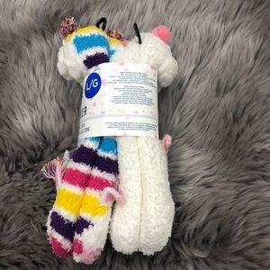 Jane and Bleecker Girls' Slipper Socks (PM1002)